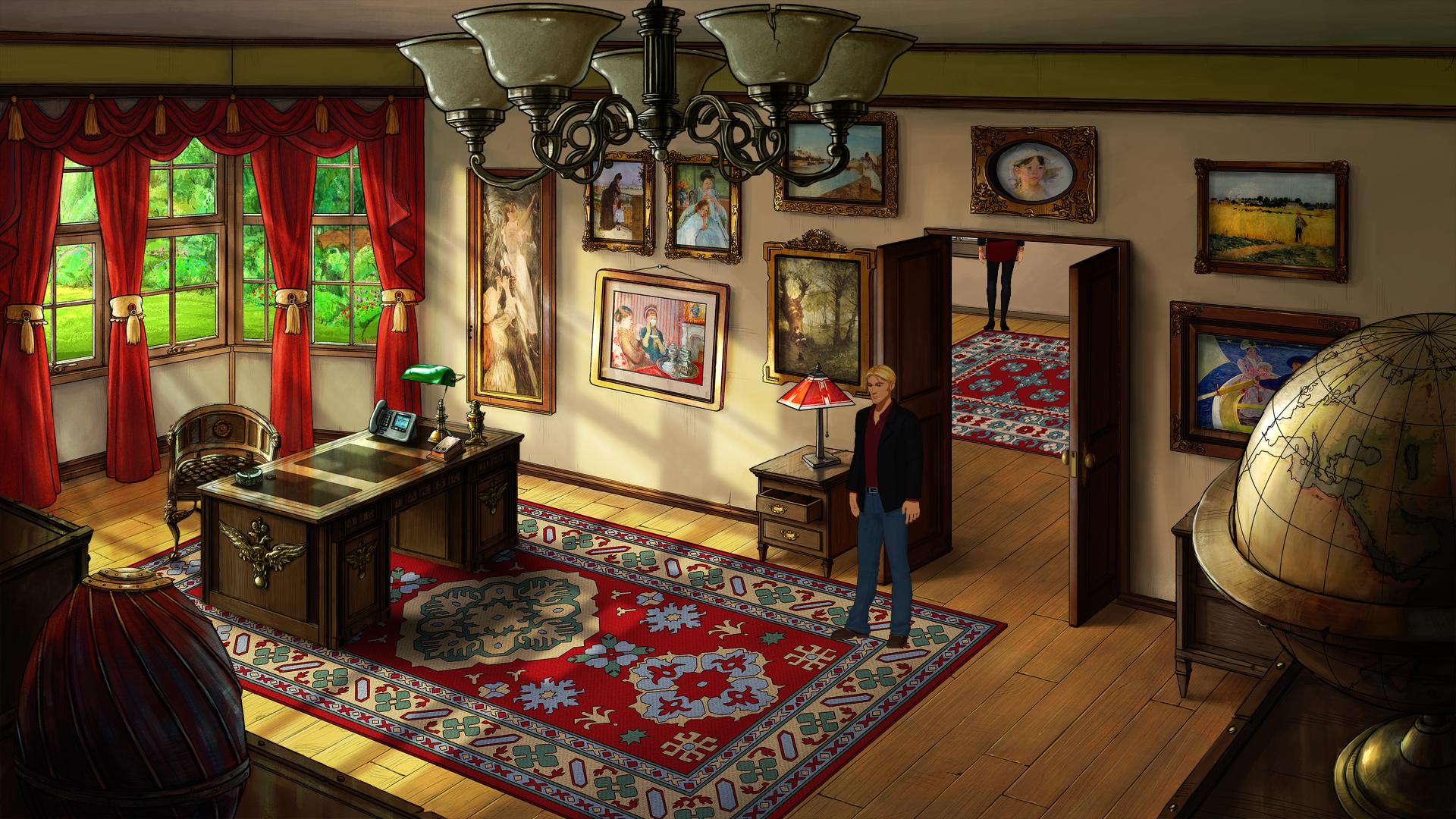 HQ Broken Sword 5: The Serpent's Curse Wallpapers   File 4474.03Kb