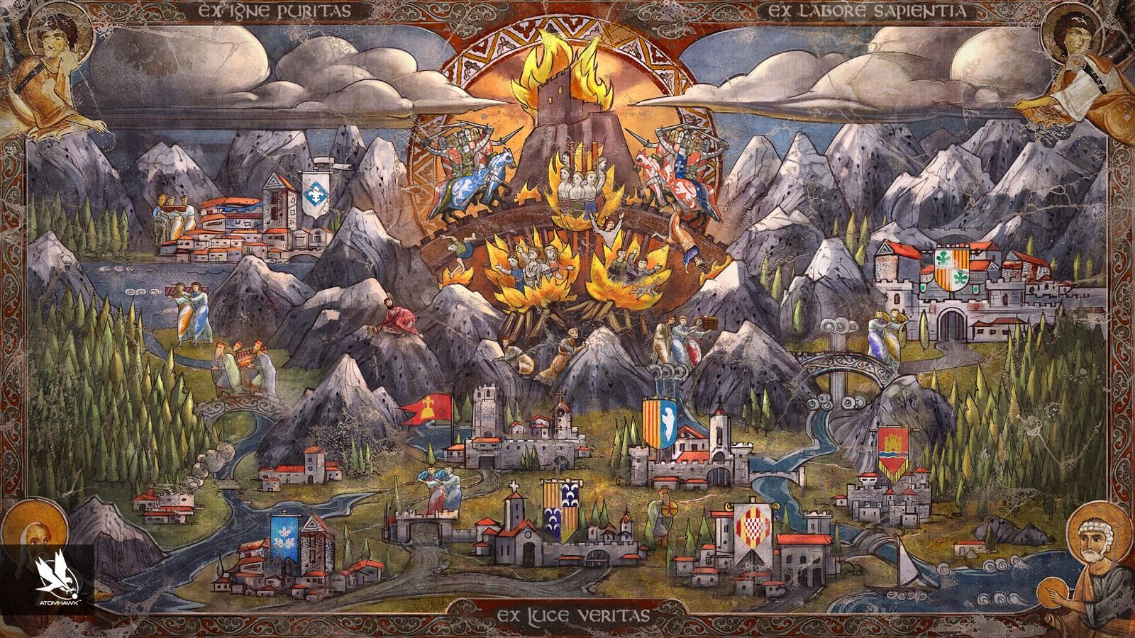 HQ Broken Sword 5: The Serpent's Curse Wallpapers   File 610.88Kb