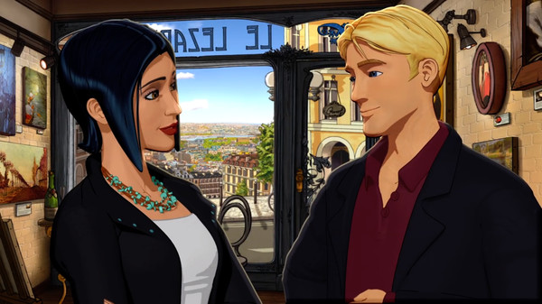 HD Quality Wallpaper   Collection: Video Game, 600x337 Broken Sword 5: The Serpent's Curse