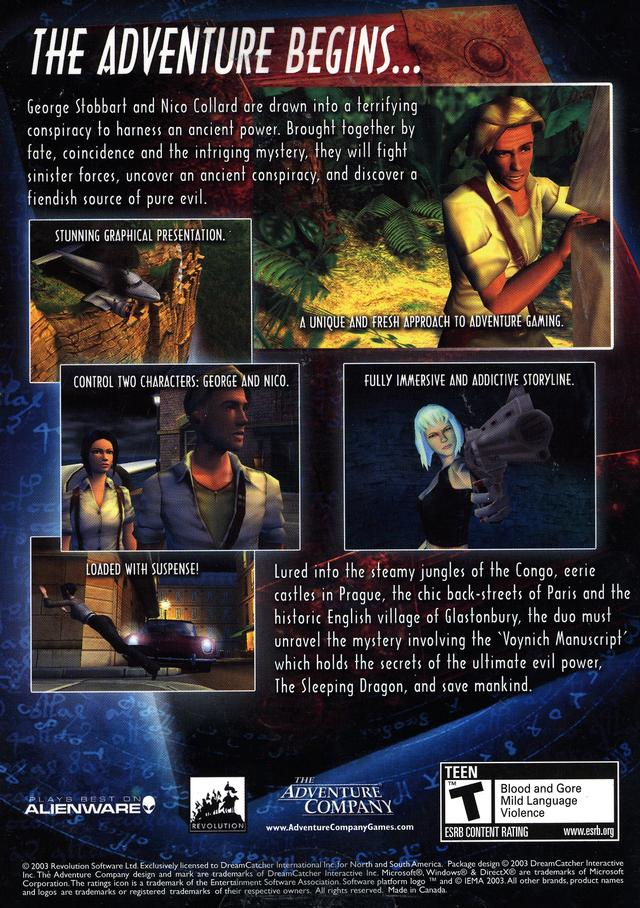 Broken Sword: The Sleeping Dragon Backgrounds, Compatible - PC, Mobile, Gadgets  640x908 px