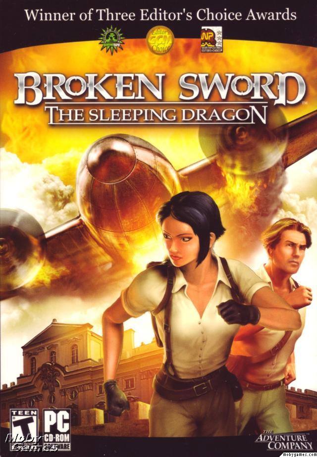 High Resolution Wallpaper   Broken Sword: The Sleeping Dragon 640x923 px