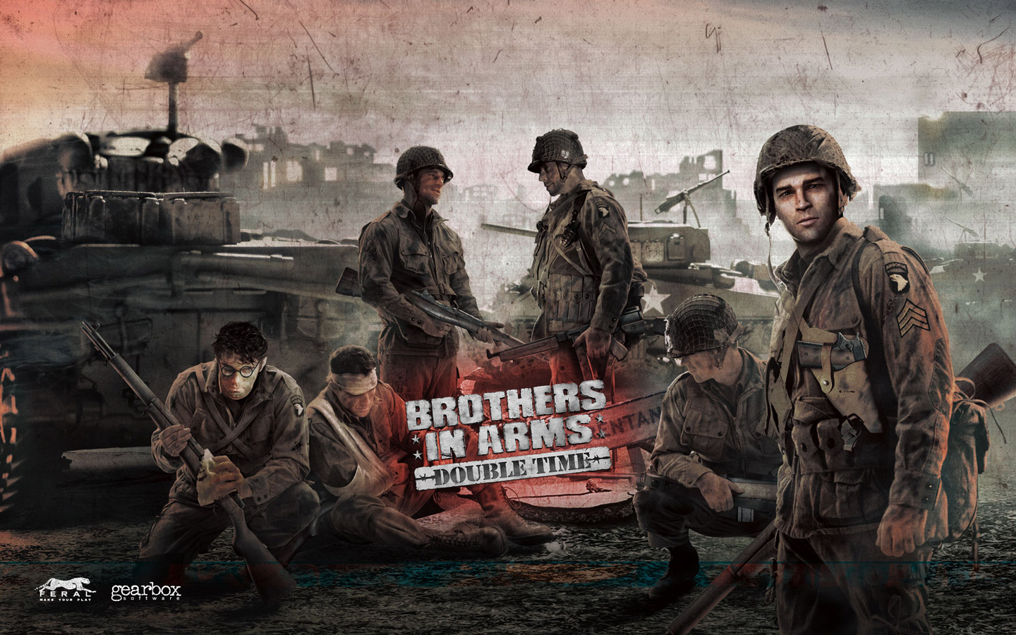 High Resolution Wallpaper | Brothers In Arms: Double Time 1440x900 px
