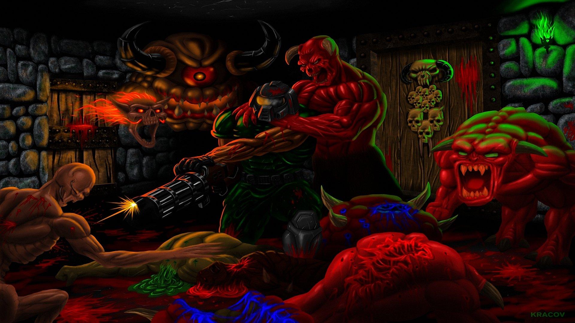 Brutal Doom wallpapers, Video Game, HQ Brutal Doom pictures   4K