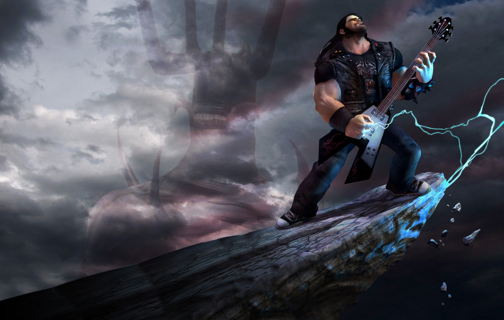 Brutal Legend Backgrounds, Compatible - PC, Mobile, Gadgets| 1650x1050 px