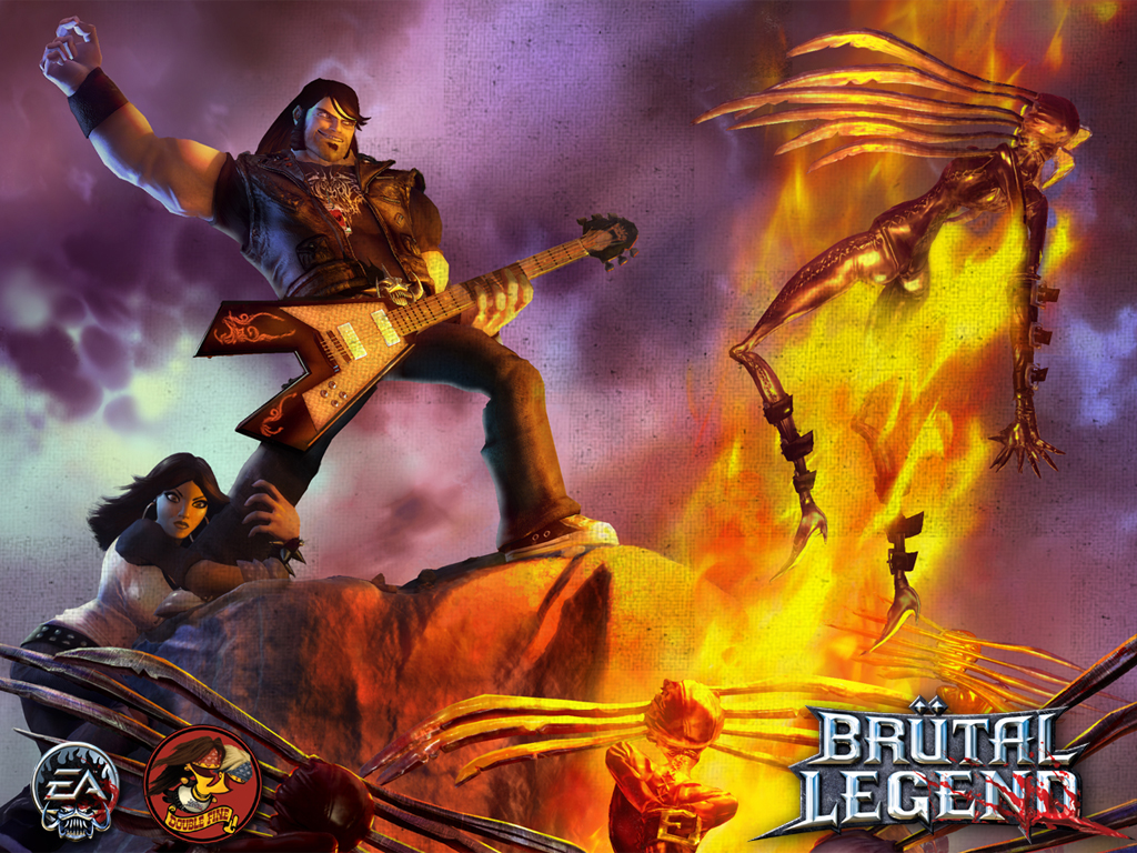 Nice Images Collection: Brutal Legend Desktop Wallpapers