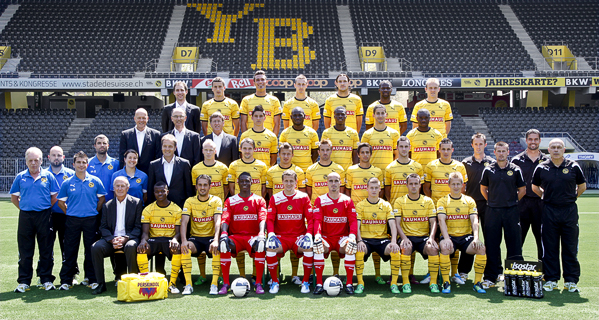 HD Quality Wallpaper | Collection: Sports, 599x320 BSC Young Boys