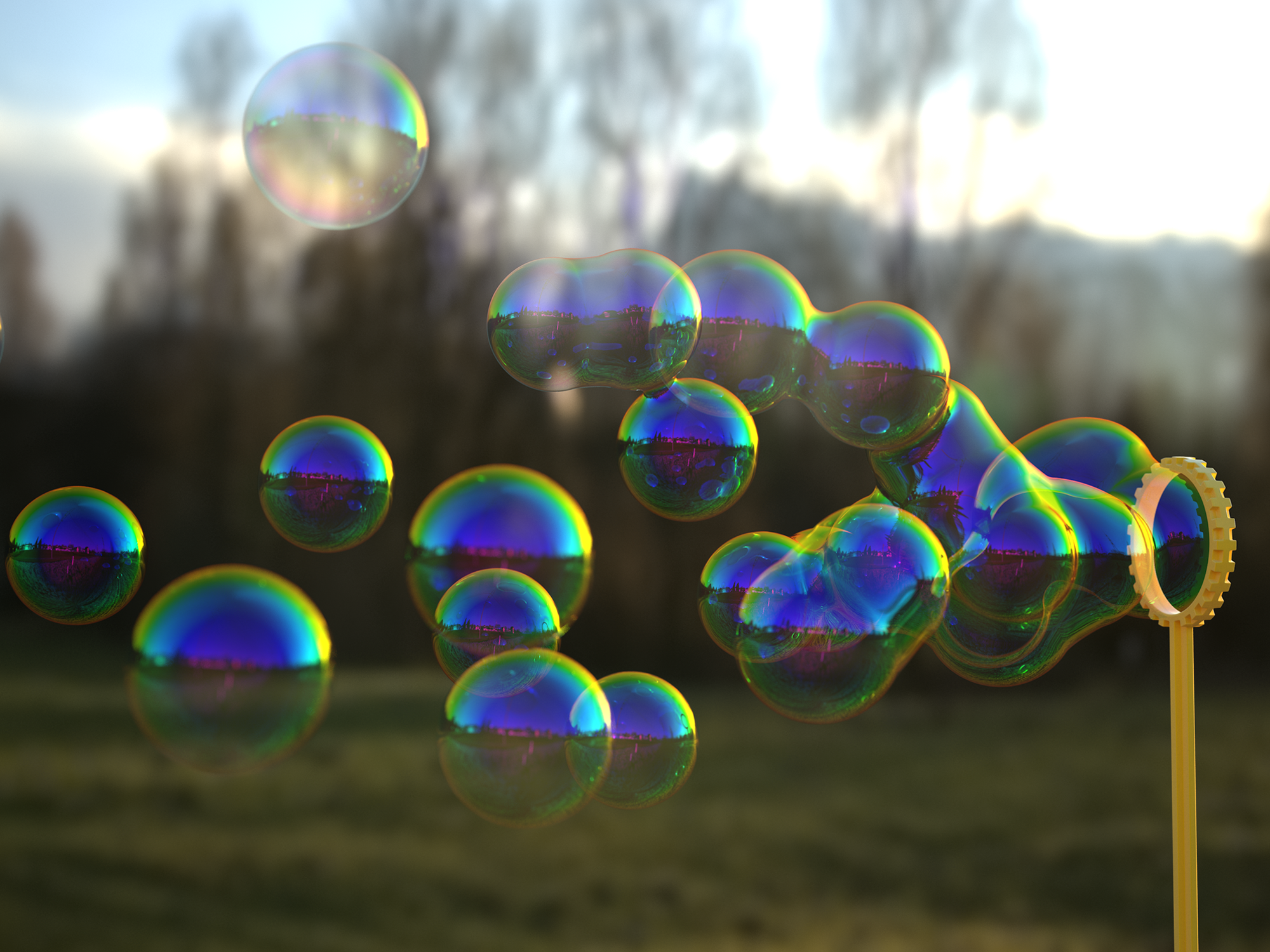 Bubbles Pics, CGI Collection