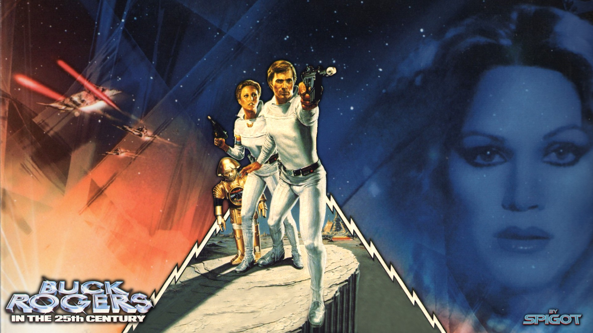 Nice Images Collection: Buck Rogers Desktop Wallpapers