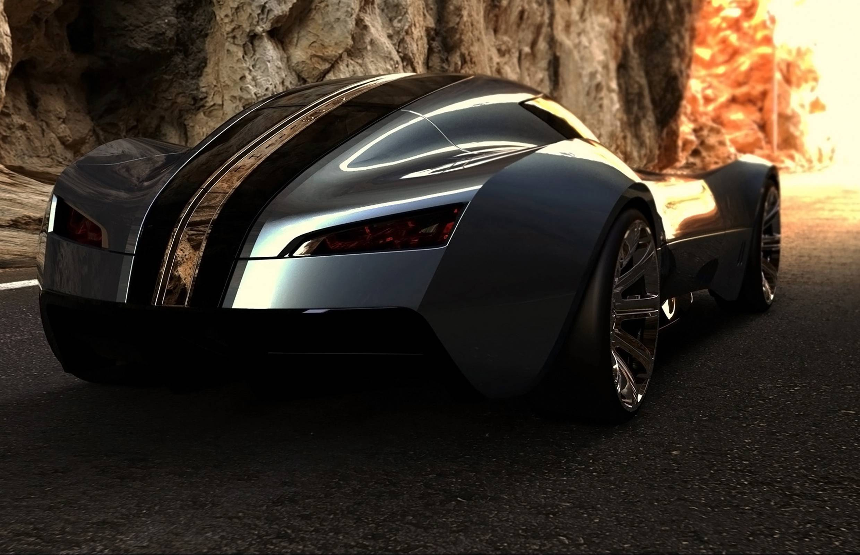 High Resolution Wallpaper | Bugatti Aerolithe 2480x1600 px