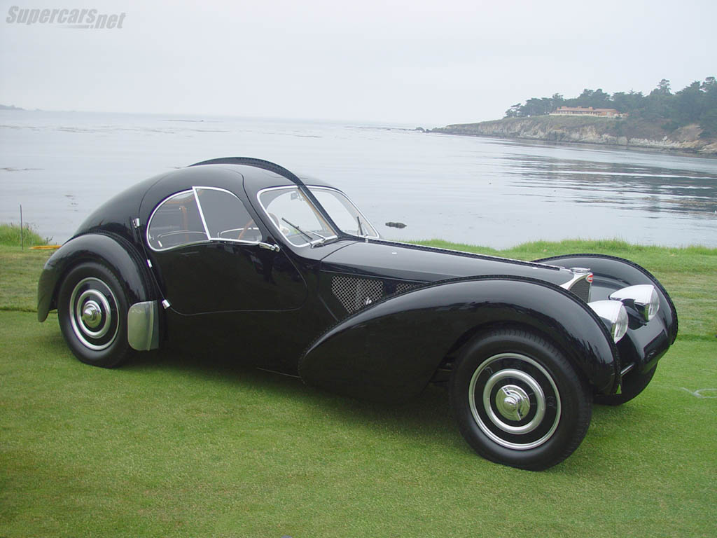 HD Quality Wallpaper | Collection: Vehicles, 1024x768 Bugatti Type 57