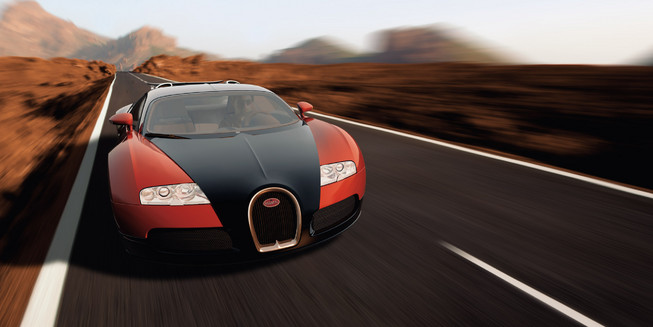 Nice Images Collection: Bugatti Veyron Desktop Wallpapers
