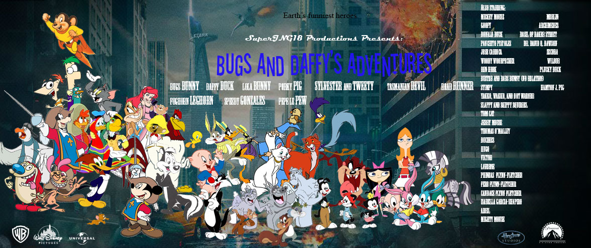 Bugs And Daffy Backgrounds, Compatible - PC, Mobile, Gadgets| 1177x495 px