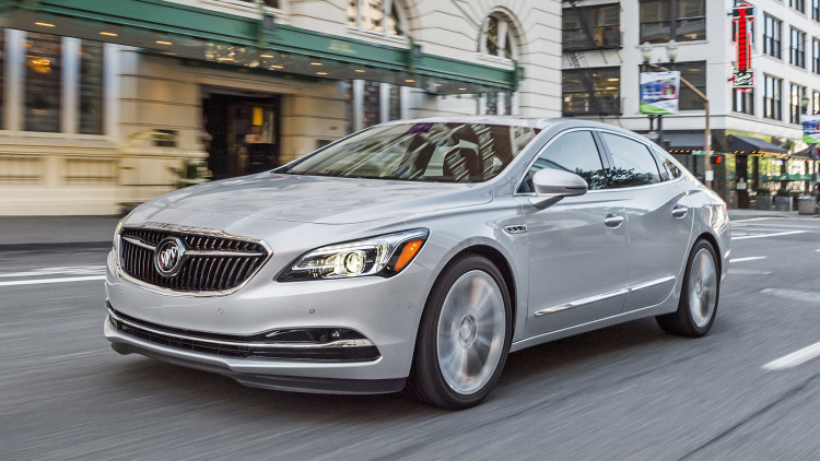 Nice wallpapers Buick LaCrosse 750x422px
