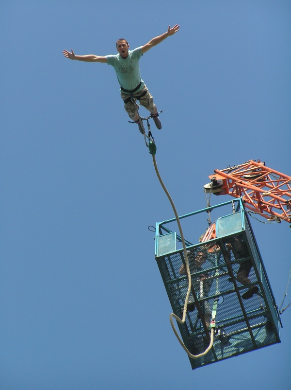 Nice wallpapers Bungee Jump 600x802px
