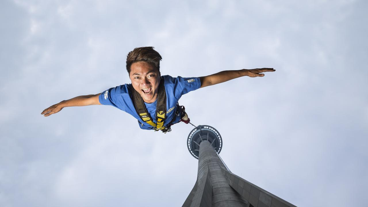 High Resolution Wallpaper | Bungee Jump 1280x720 px