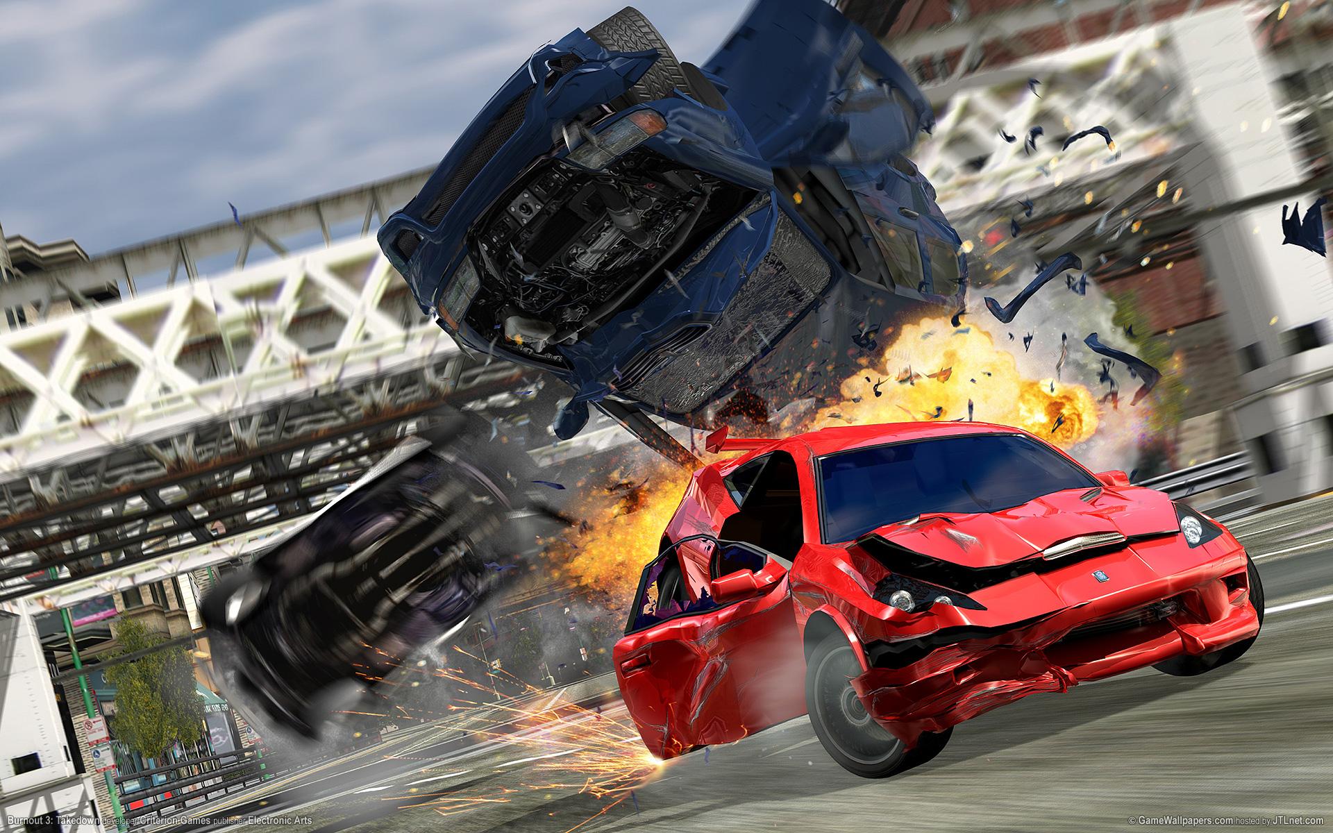 Burnout 3: Takedown wallpapers, Video Game, HQ Burnout 3
