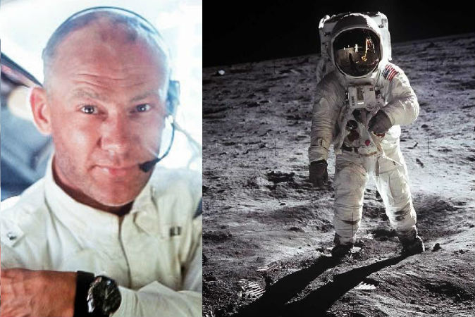 HD Quality Wallpaper | Collection: Men, 674x450 Buzz Aldrin