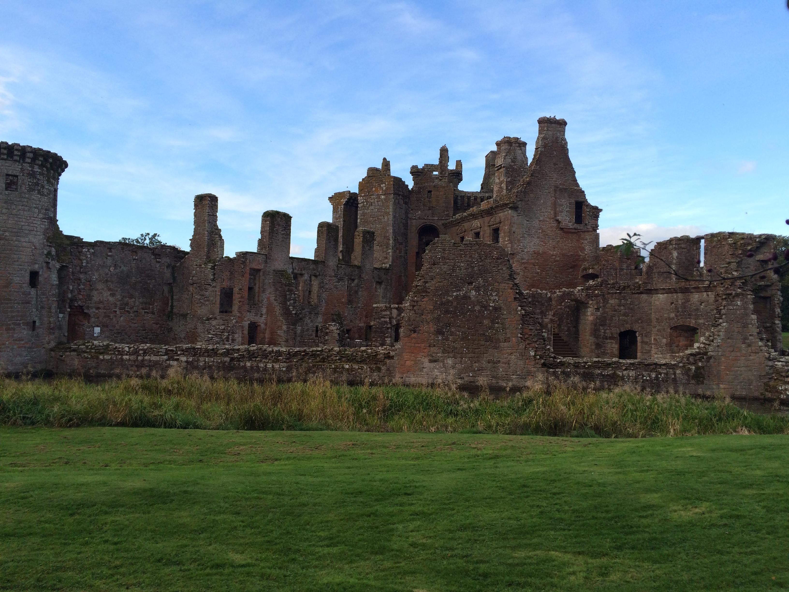 Обои Caerlaverock Castle, scotland, руины, замок. Разное foto 10