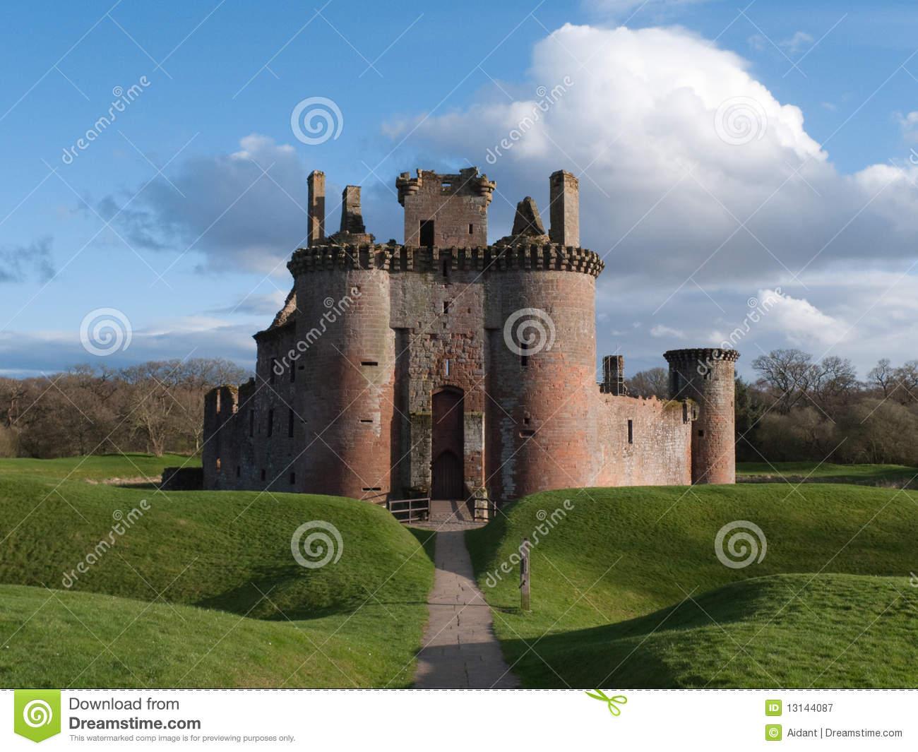 Обои Caerlaverock Castle, scotland, руины, замок. Разное foto 19