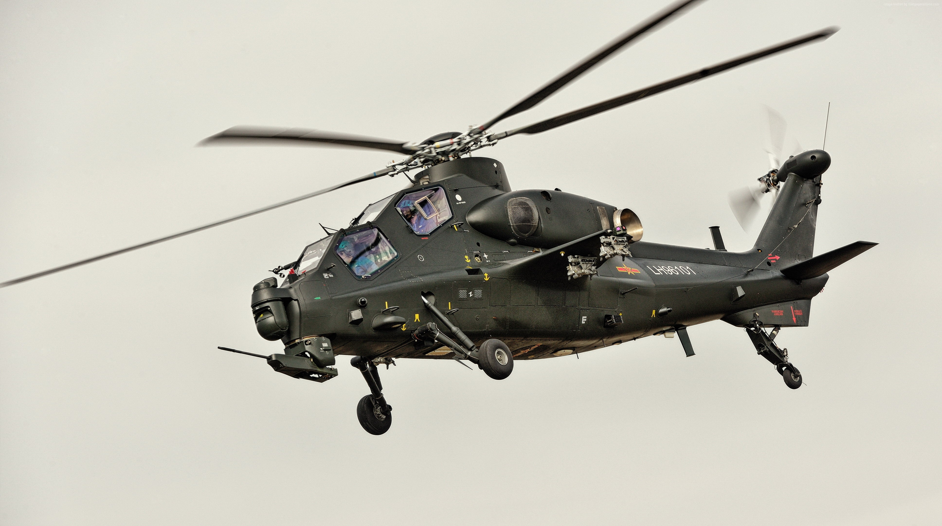 Asian Defence News: WZ -10 attack helicopters usage in