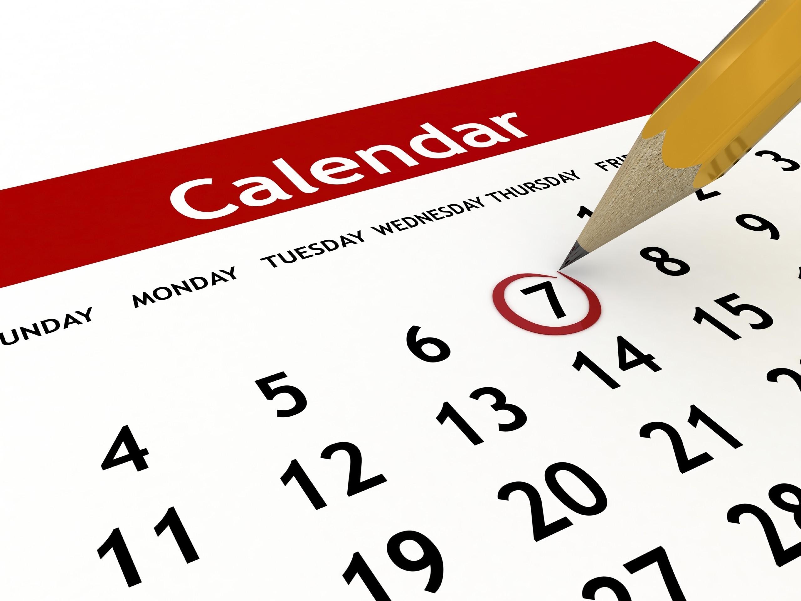 Images of Calendar | 2560x1920
