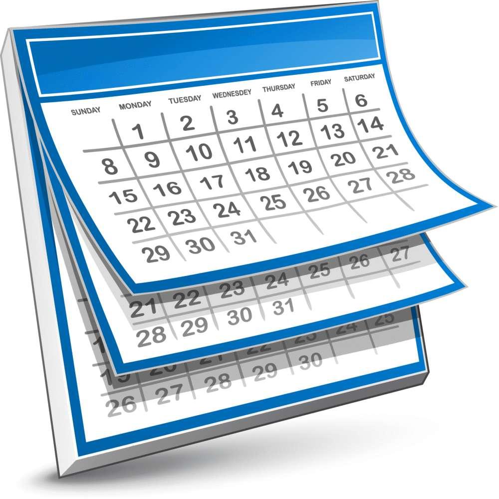 Nice Images Collection: Calendar Desktop Wallpapers