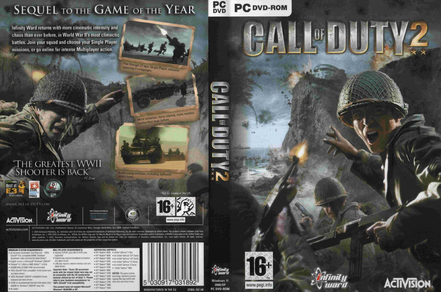 Call Of Duty 2 Wallpapers Video Game Hq Call Of Duty 2 Pictures