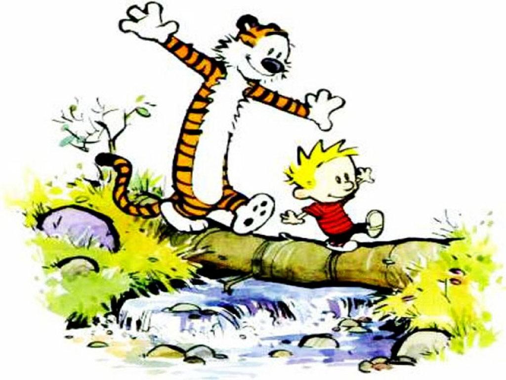 HD Quality Wallpaper | Collection: Comics, 1024x768 Calvin & Hobbes