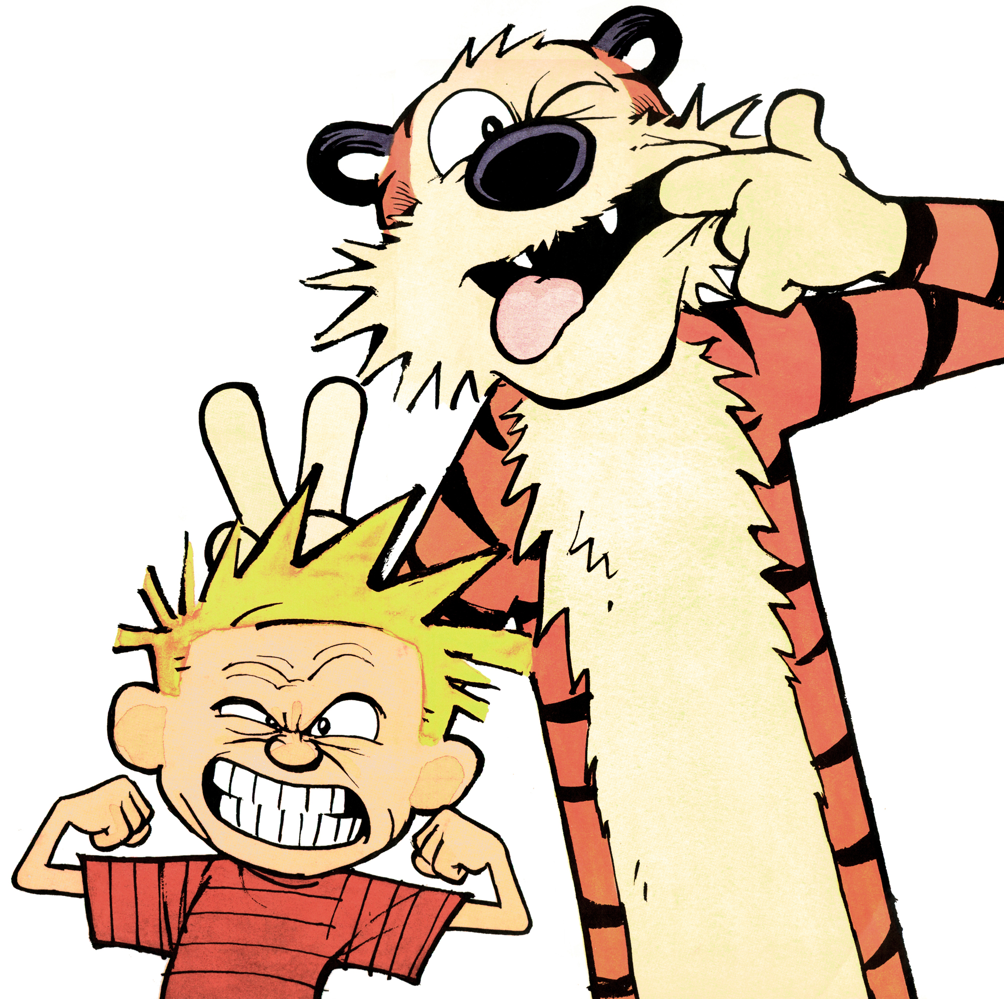 Nice wallpapers Calvin & Hobbes 2000x1989px