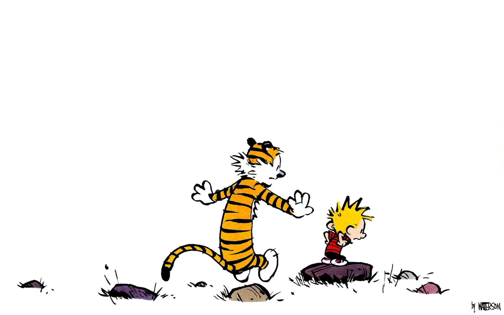 Nice wallpapers Calvin & Hobbes 1680x1050px