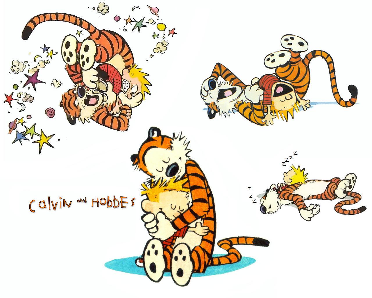 High Resolution Wallpaper | Calvin & Hobbes 1280x1024 px