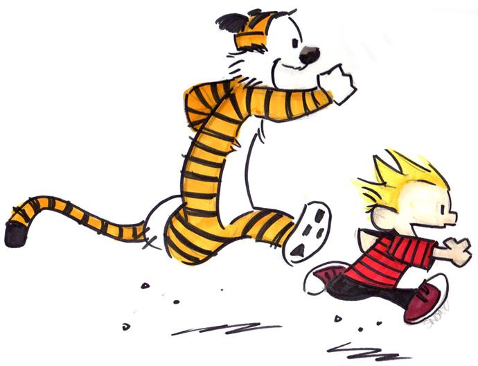 690x528 > Calvin & Hobbes Wallpapers