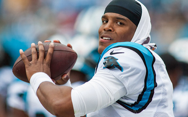 Nice Images Collection: Cam Newton Desktop Wallpapers