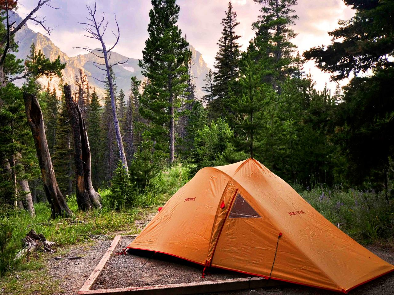 Nice Images Collection: Camping Desktop Wallpapers