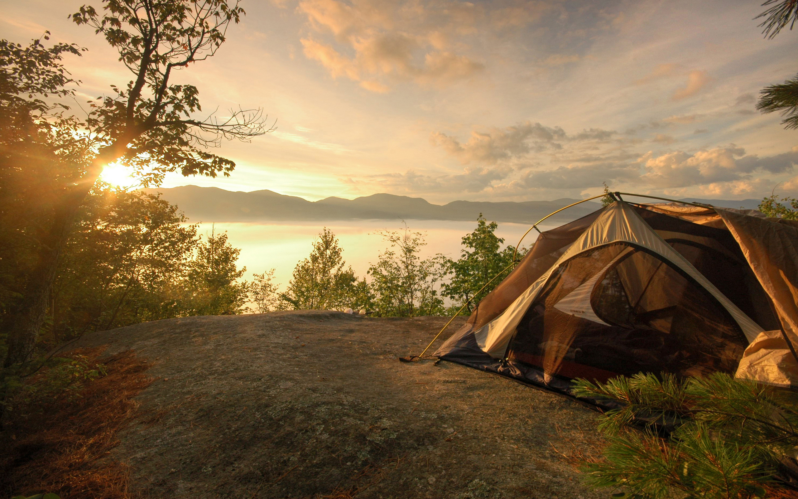 Camping Backgrounds, Compatible - PC, Mobile, Gadgets| 2560x1600 px