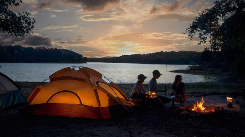 Camping Backgrounds, Compatible - PC, Mobile, Gadgets| 800x448 px