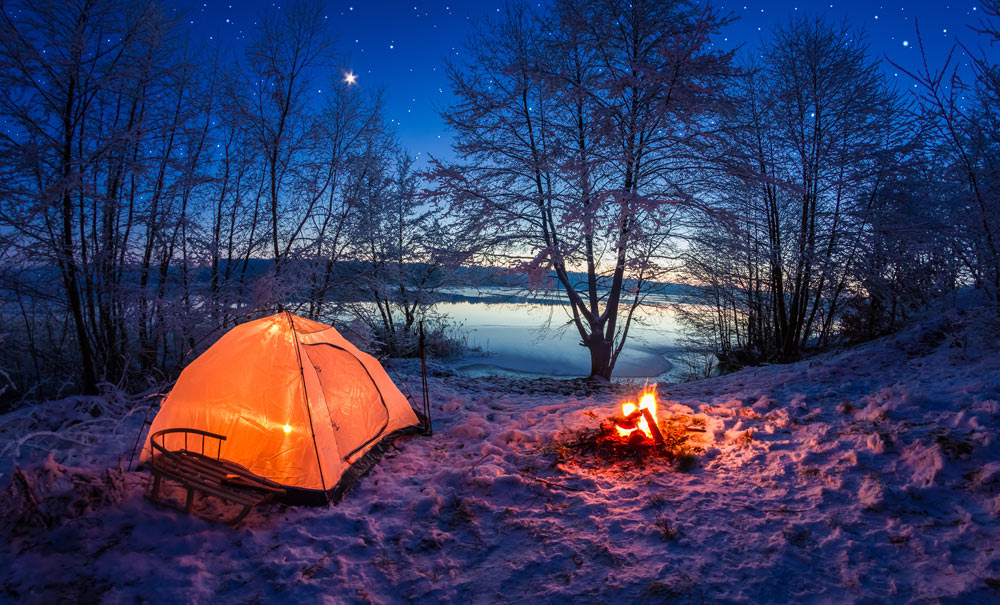 Nice wallpapers Camping 1000x605px
