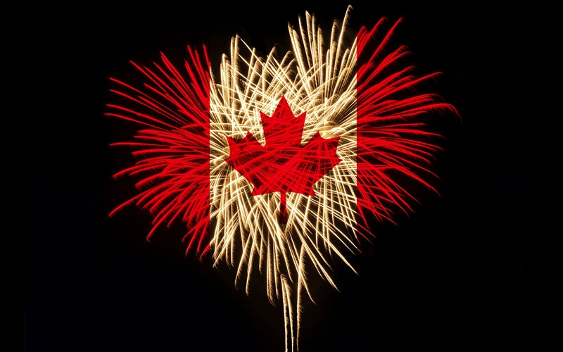 Canada Day Backgrounds, Compatible - PC, Mobile, Gadgets| 800x500 px