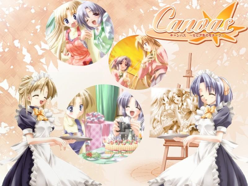 HD Quality Wallpaper | Collection: Anime, 800x600 Canvas ~Sepia-iro No Motif~