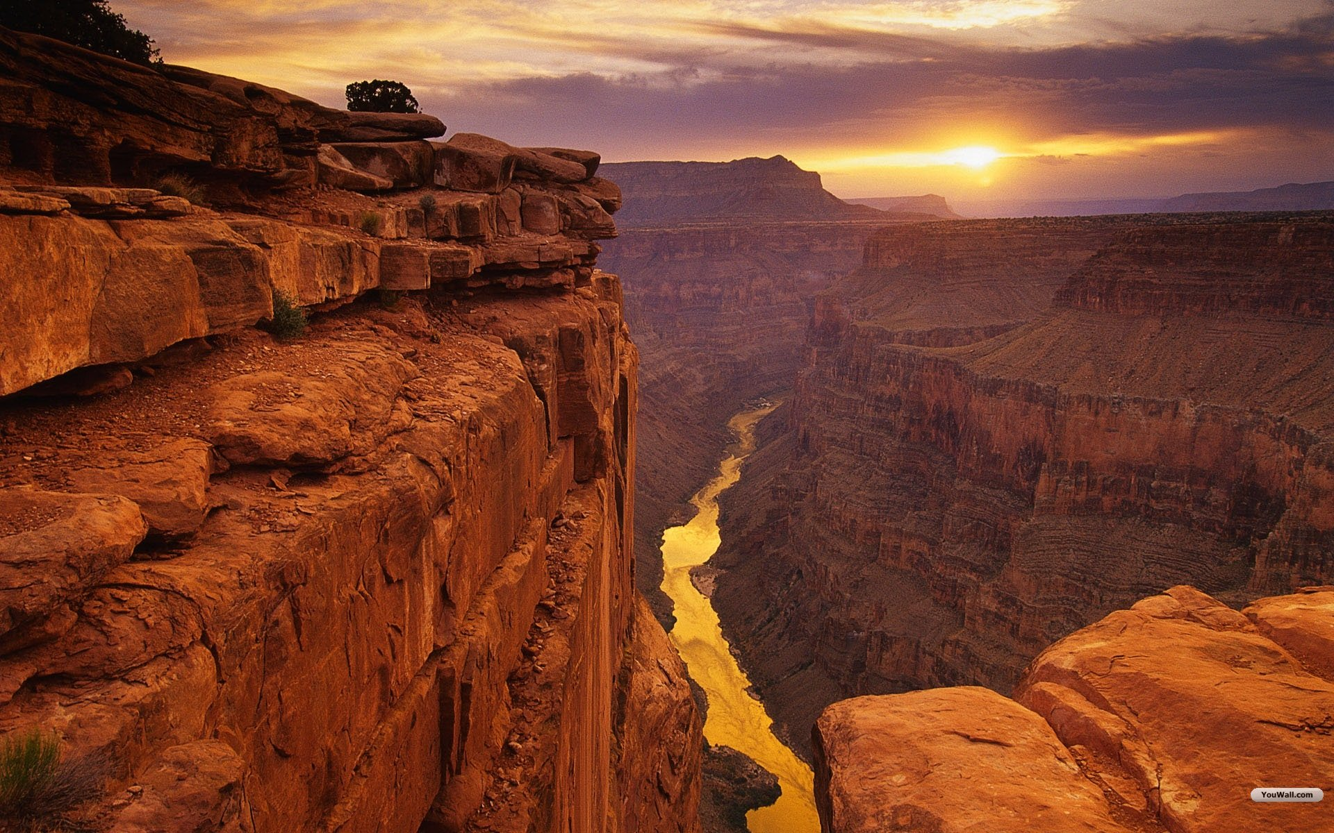 Nice Images Collection: Canyon Desktop Wallpapers