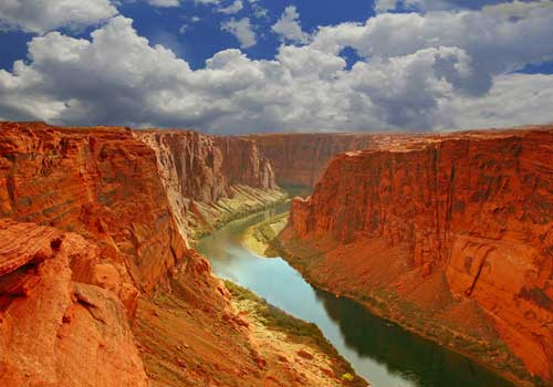 HD Quality Wallpaper | Collection: Earth, 500x350 Canyon