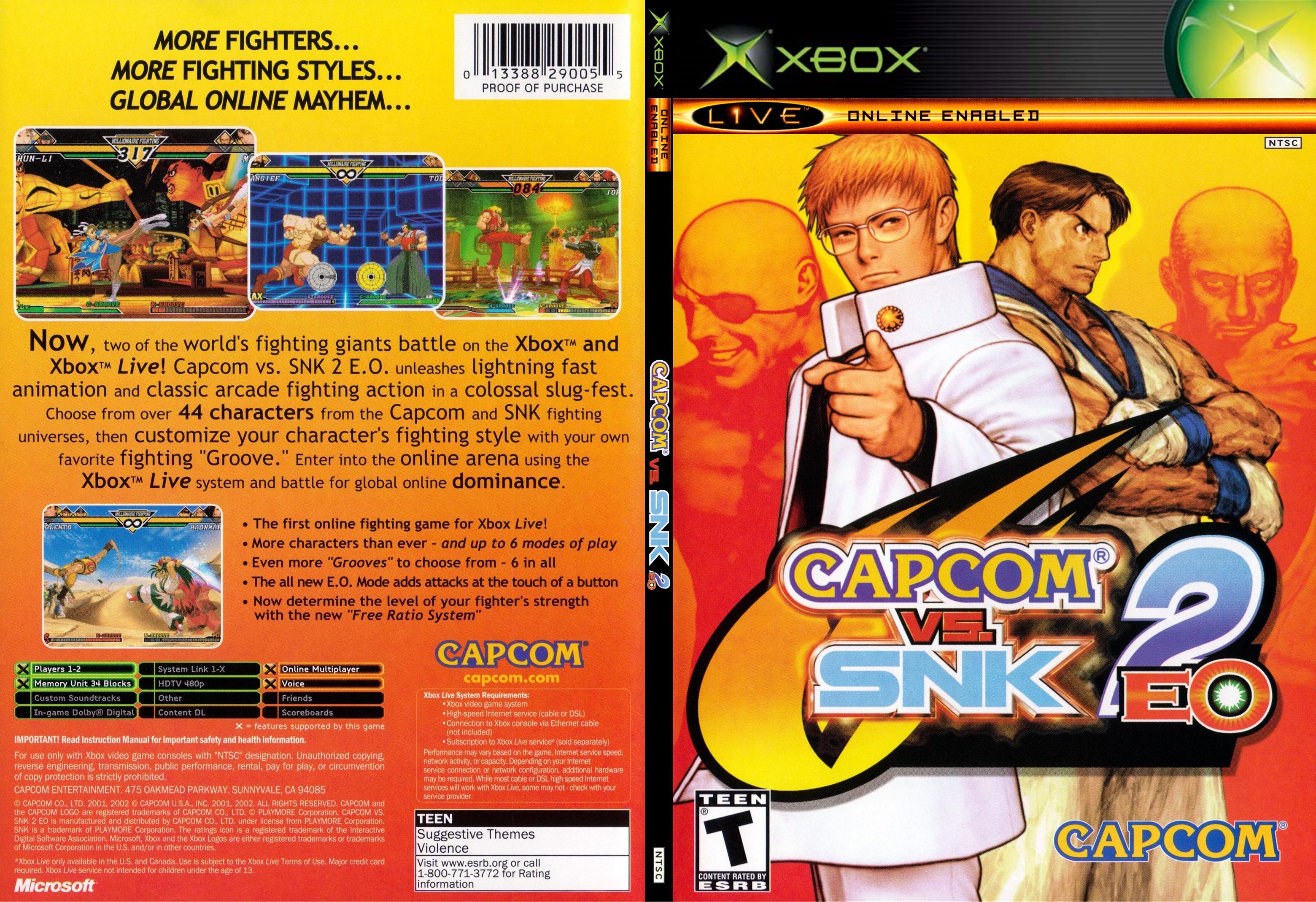 Capcom Vs Snk 2 Eo Wallpapers Video Game Hq Capcom Vs Snk 2 Eo