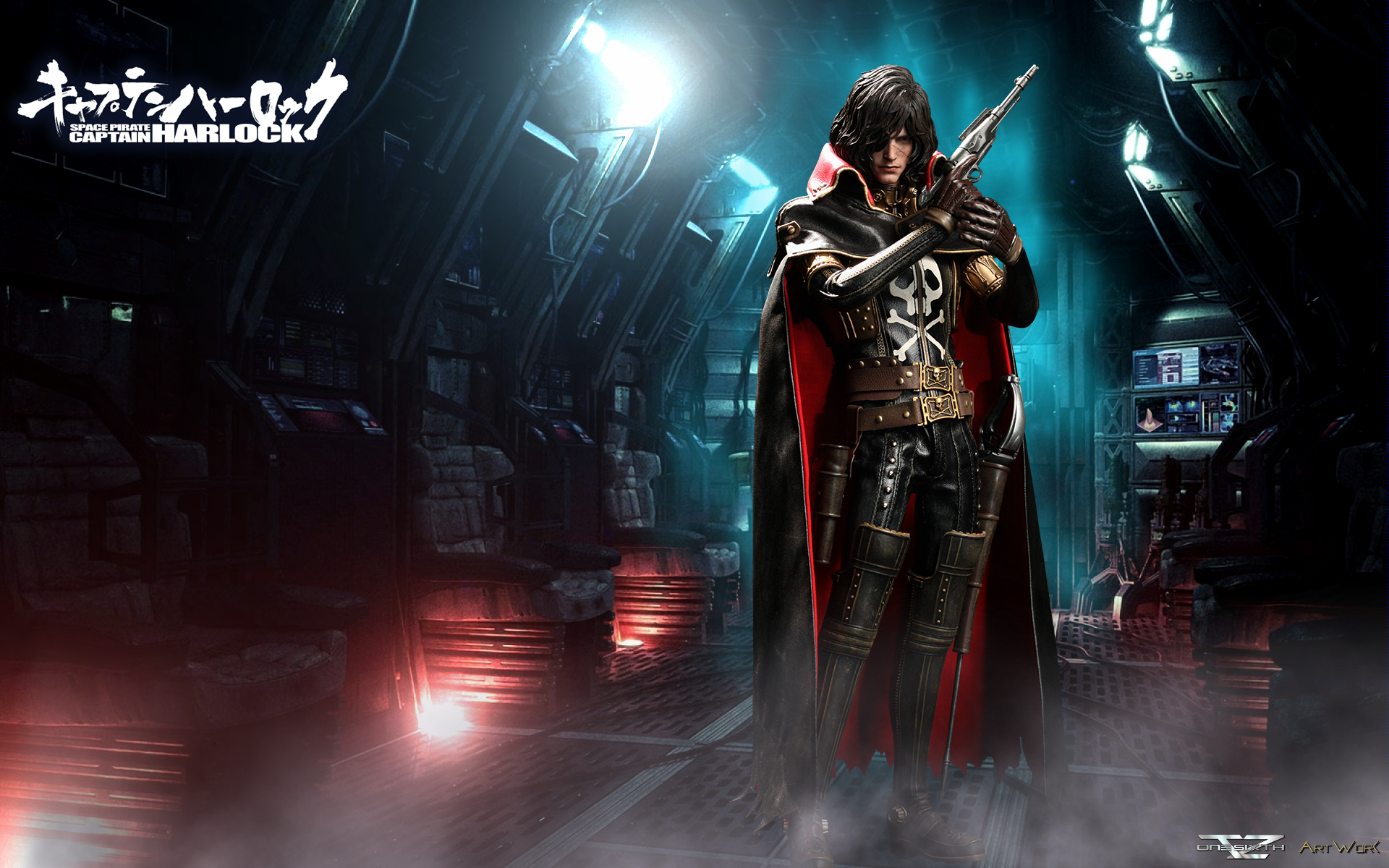 Nice wallpapers Space Pirate Captain Harlock 1920x1200px