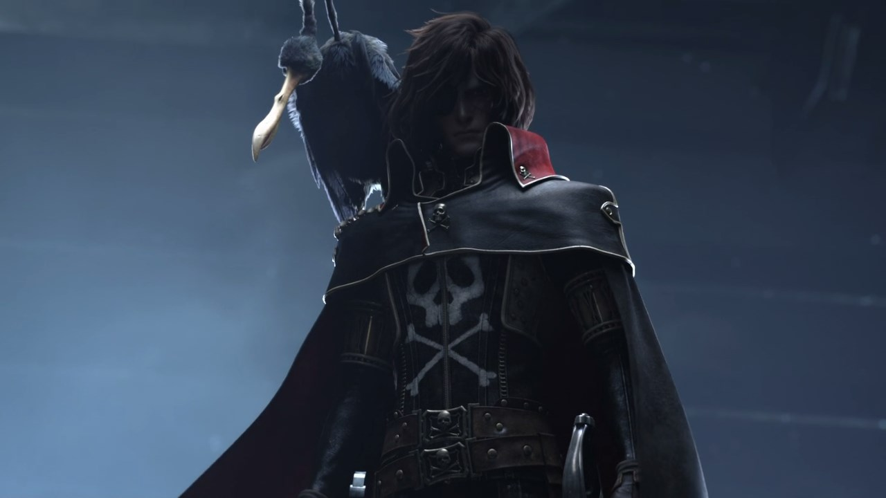 Space Pirate Captain Harlock High Quality Background on Wallpapers Vista
