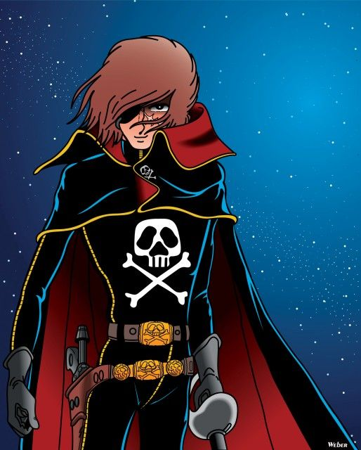 Images of Captain Harlock | 514x640