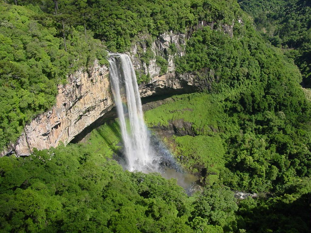 Nice wallpapers Caracol Falls 1024x768px
