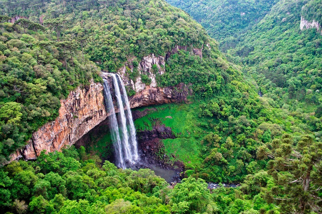 Nice Images Collection: Caracol Falls Desktop Wallpapers