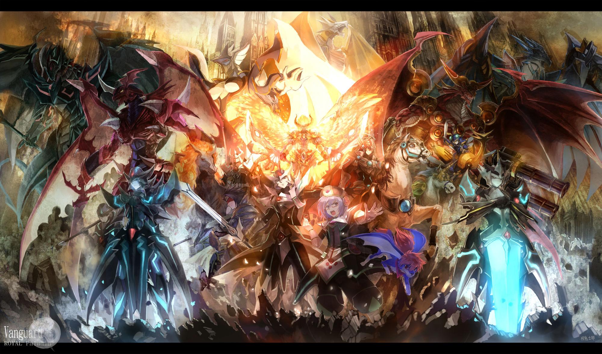 Cardfight!! Vanguard HD wallpapers, Desktop wallpaper - most viewed