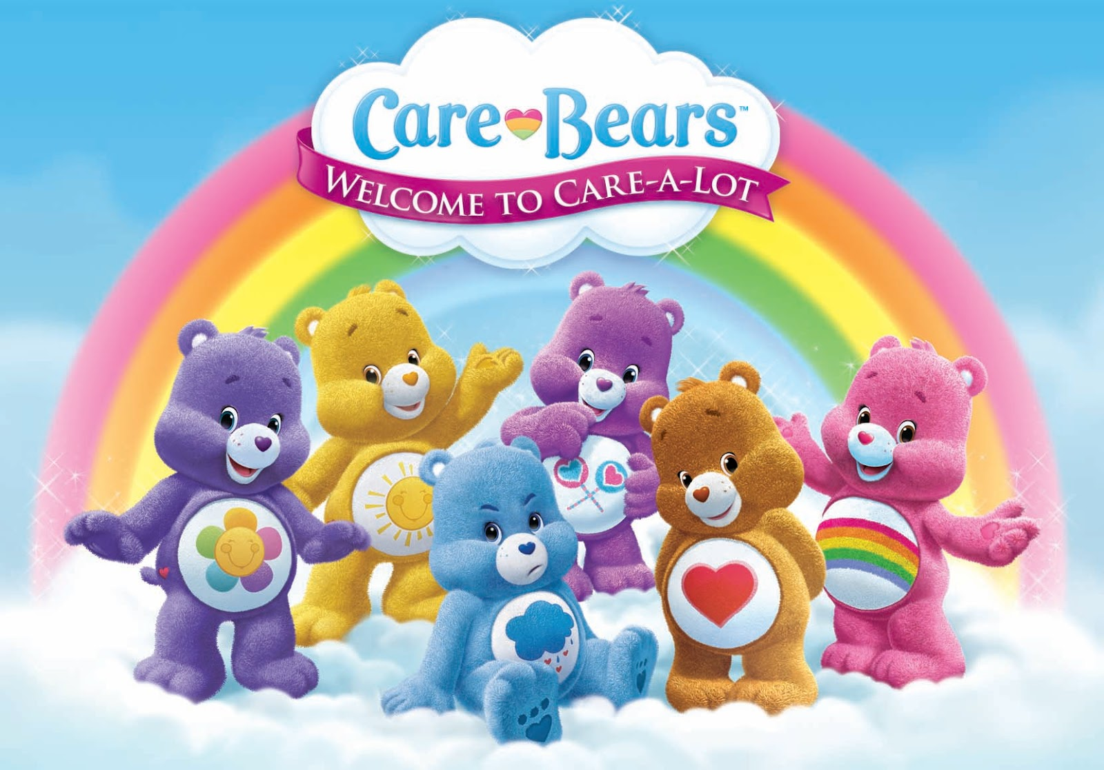 Care Bears Backgrounds, Compatible - PC, Mobile, Gadgets| 1600x1117 px