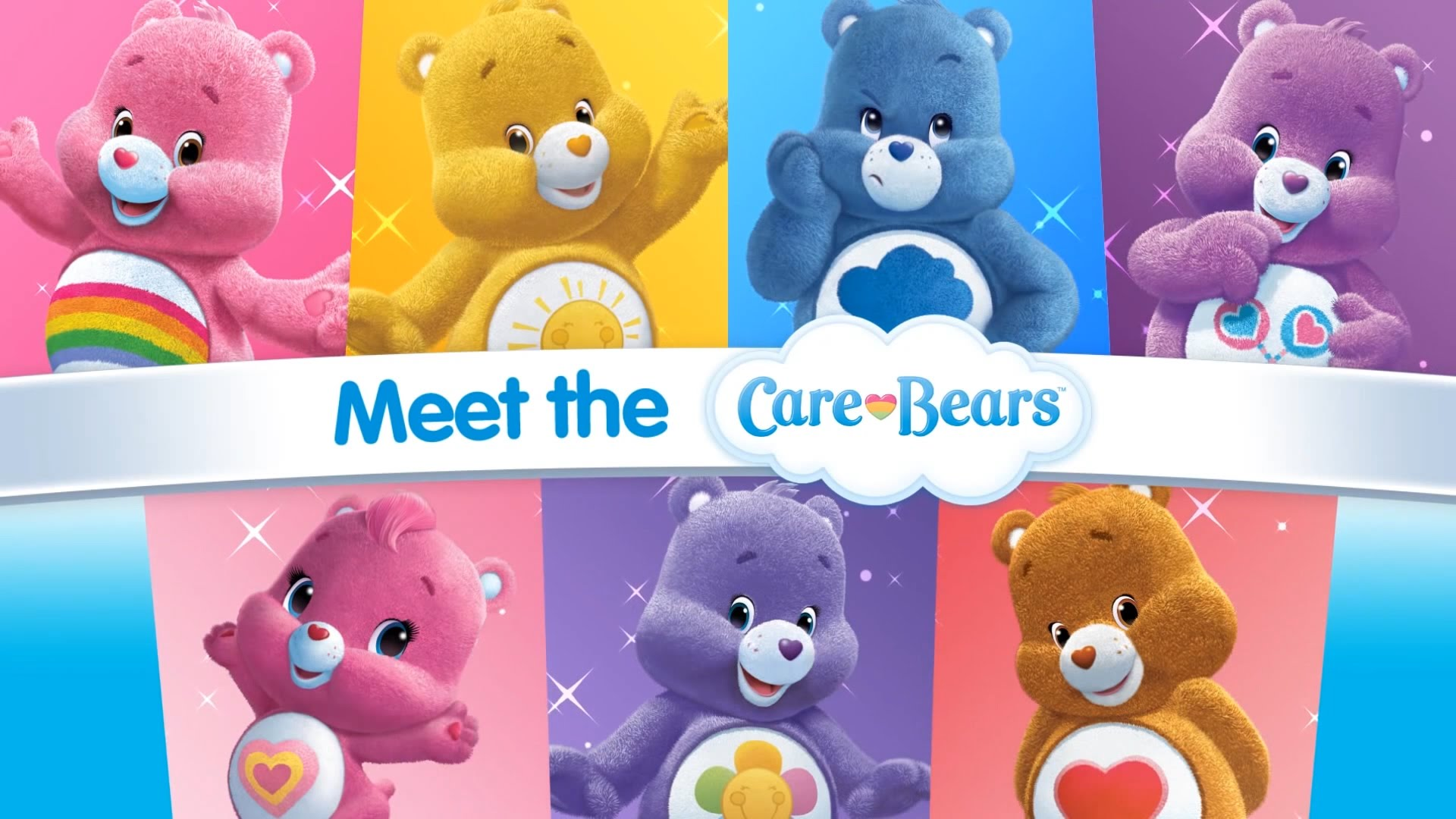 HQ Care Bears Wallpapers | File 233.8Kb